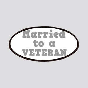 Married to a Veteran Patches
