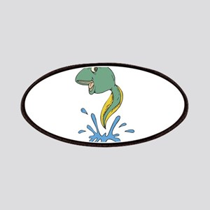 Cute Leaping Tadpole Patches