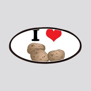 I Heart (Love) Potatoes Patches