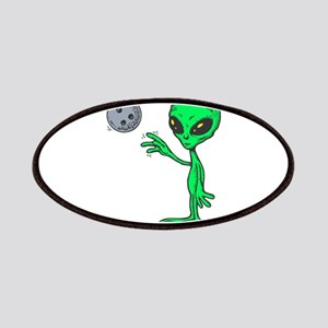 Bowling Alien Patches