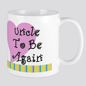Uncle To Be Again Stripes Mug
