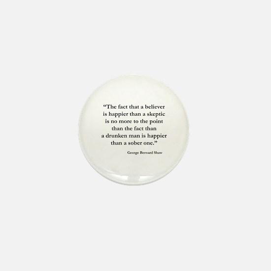 Skeptic Mini Button