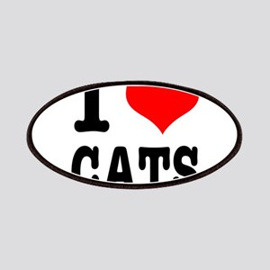 I Heart (Love) Cats Patches