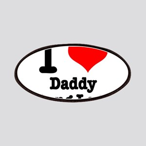 I Heart (Love) Daddy Long Leg Patches