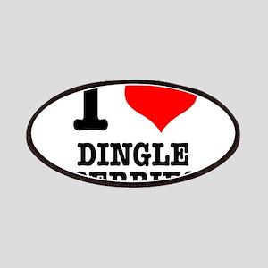 I Heart (Love) Dingleberries Patches