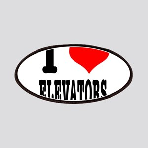 I Heart (Love) Elevators Patches