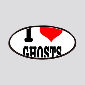 I Heart (Love) Ghosts Patches