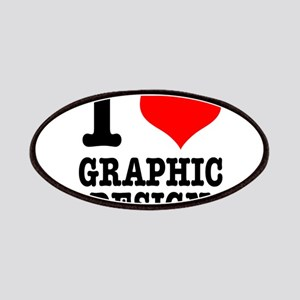 I Heart (Love) Graphic Design Patches