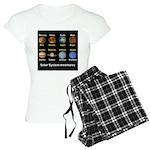 Planets Women's Light Pajamas
