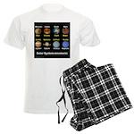 Planets Men's Light Pajamas