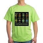 Planets Green T-Shirt