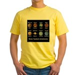 Planets Yellow T-Shirt