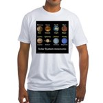 Planets Fitted T-Shirt