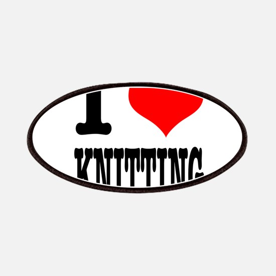 I Heart (Love) Knitting Patches