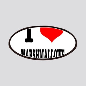 I Heart (Love) Marshmallows Patches