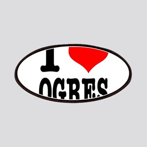 I Heart (Love) Ogres Patches