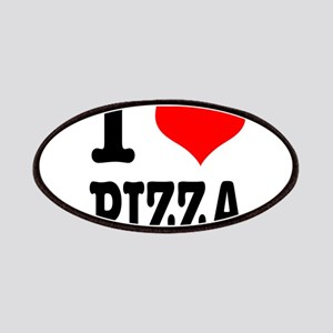 I Heart (Love) Pizza Patches