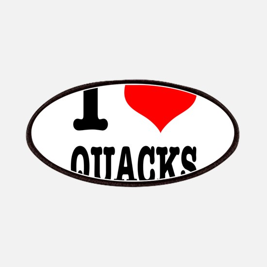 I Heart (Love) Quacks Patches