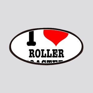 I Heart (Love) Roller Coaster Patches