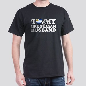 I Love My Uruguayan Husband Dark T-Shirt