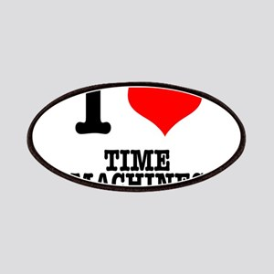 I Heart (Love) Time Machines Patches