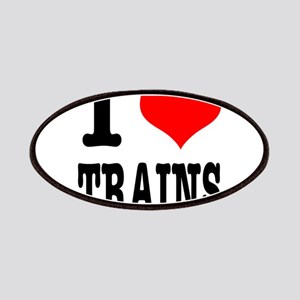 I Heart (Love) Trains Patches
