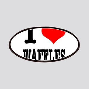 I Heart (Love) Waffles Patches