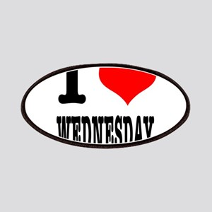 I Heart (Love) Wednesday Patches