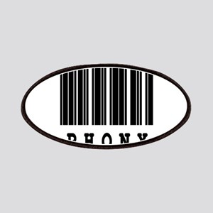 Phony Barcode Design Patches