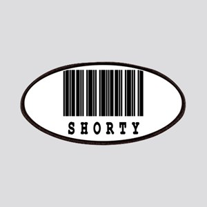 Shorty Barcode Design Patches