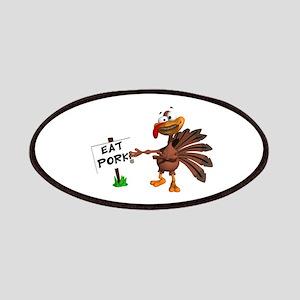 Eat Pork, Not Turkey Patches