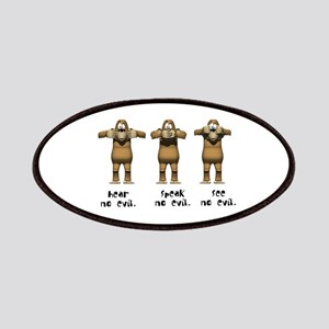 Hear No Evil Monkeys Patches