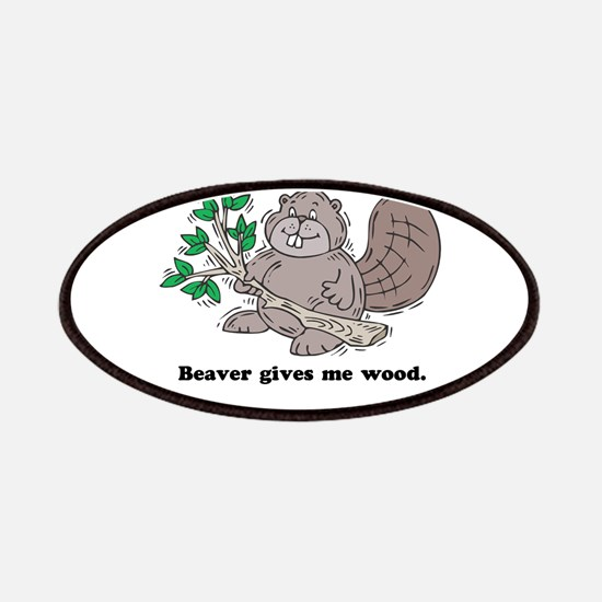 Beaver gives me Wood Patches