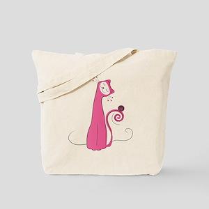 Cheerful Cat Tote Bag
