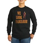 Fabulous Swiss Guard Long Sleeve Dark T-Shirt