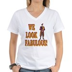 Fabulous Swiss Guard Women's V-Neck T-Shirt