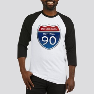 Interstate 90 - Montana Baseball Jersey