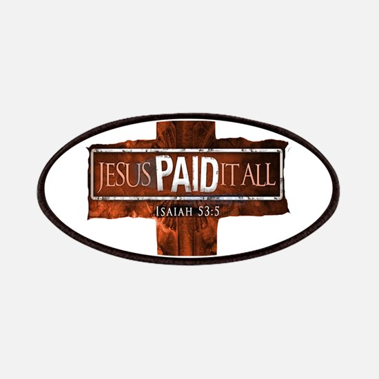 Jesus Paid In Full Patches