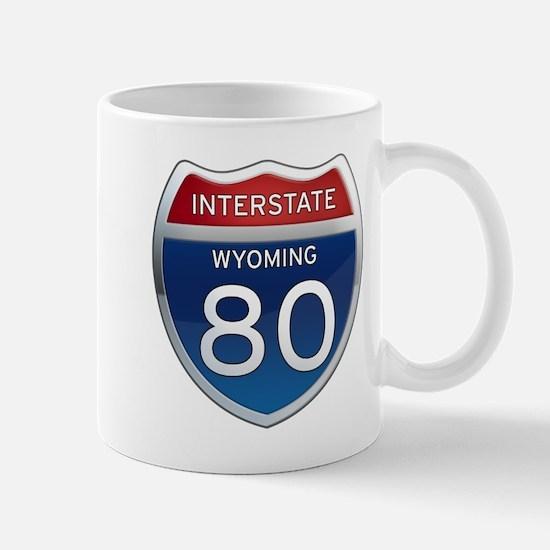 Interstate 80 - Wyoming Mug