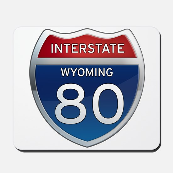 Interstate 80 - Wyoming Mousepad