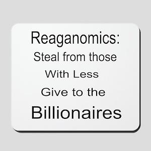 Reaganomics Anti MiddleClass Mousepad
