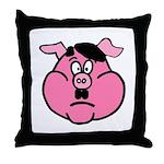 Adolf Hamler Throw Pillow