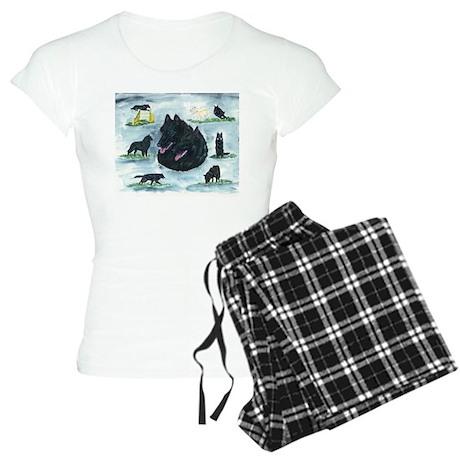 Versatile Belgian Sheepdog Women's Light Pajamas