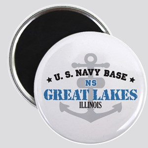 US Navy Great Lakes Base Magnet