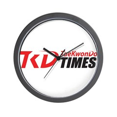 TKDT Logo Wall Clock