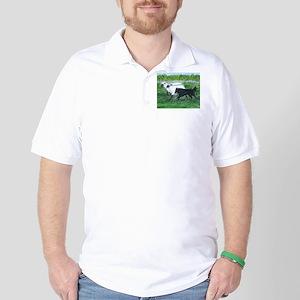 Belgian Sheepdog Herding Golf Shirt