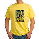 Saguaro Zombies: The Green Zombie Yellow T-Shirt