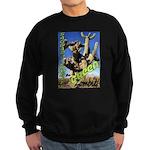 Saguaro Zombies: The Green Zombie Sweatshirt (dark