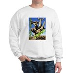 Saguaro Zombies: The Green Zombie Sweatshirt