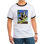 Saguaro Zombies: The Green Zombie Ringer T